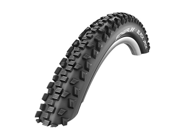 """SCHWALBE Black Jack Bike Tyre 24"""" K-Guard wire black"""